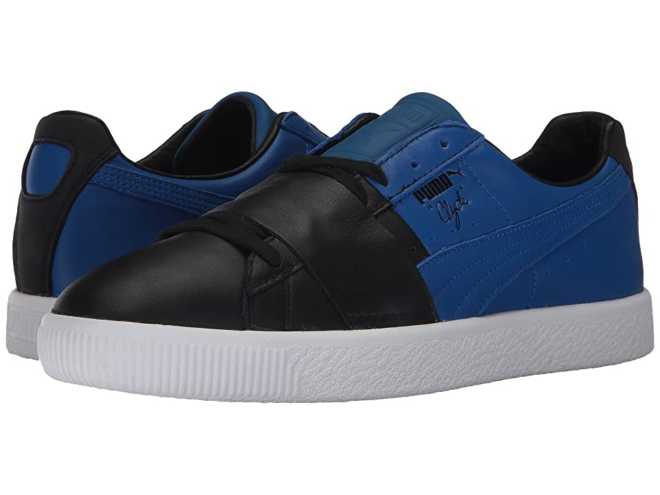 PUMA Clyde Color Block 1 (Puma Black/Lapis Blue) Men