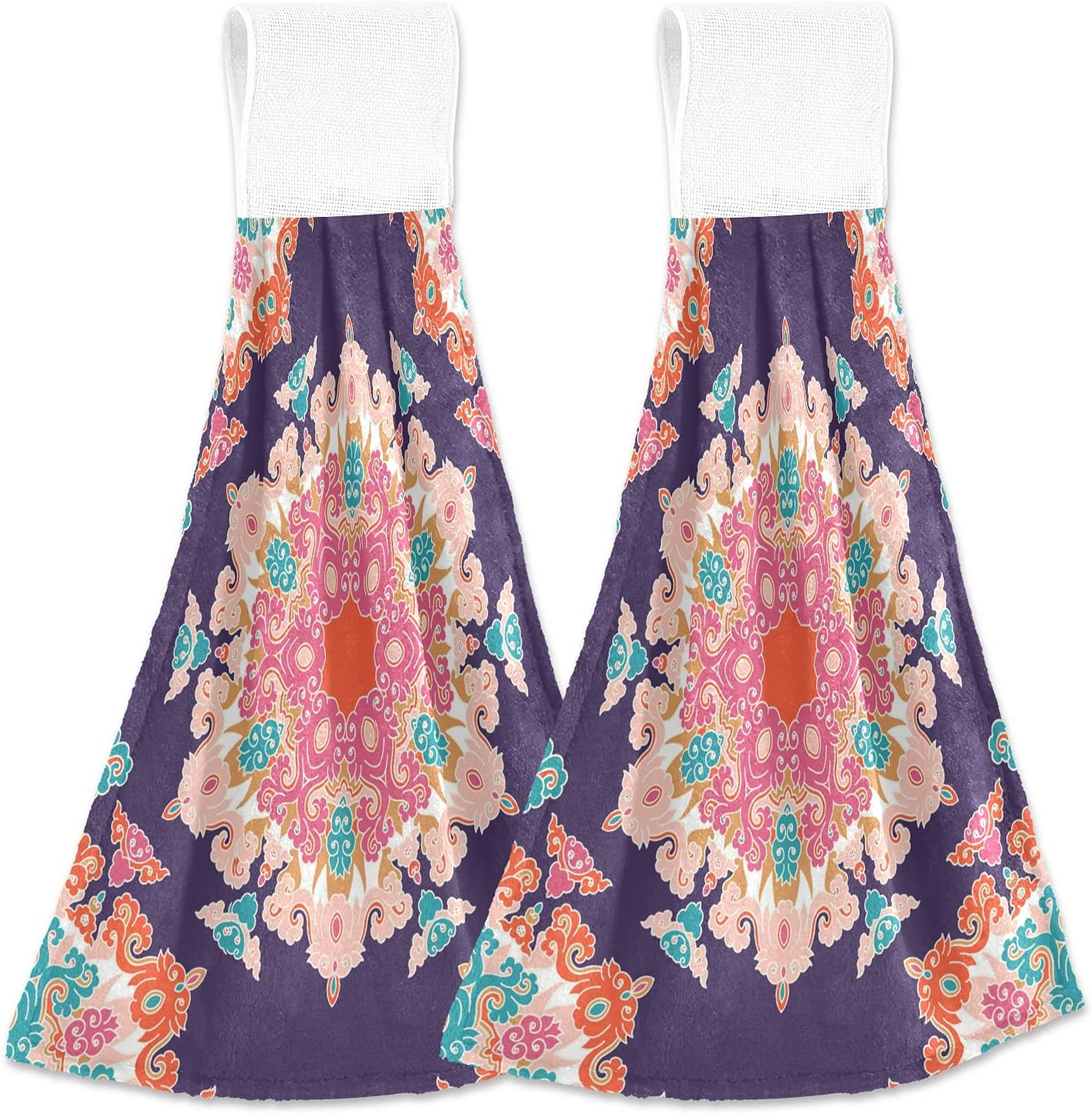 Free Shipping New OcuteO Hanging Kitchen Towels Set online shop Style Vintage Pieces Ethnic 2