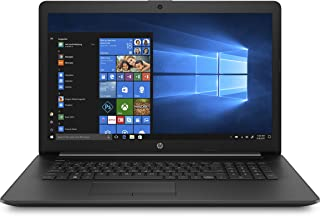 HP 17-Inch HD+ Touchscreen Laptop, 7th Gen Intel Core i3-7020U, 8 GB RAM, 1 TB Hard Drive and 128 GB Solid-State Drive, Windows 10 Home with DVD Drive (17-by0070nr, Jet Black)