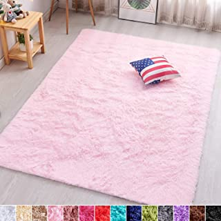 PAGISOFE Soft Girls Room Rug Baby Nursery Decor Kids Room...