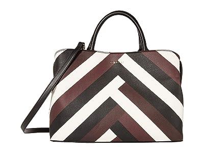 Fiorelli Bethnal Satchel (Chevron) Handbags