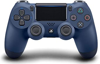 DualShock 4 Wireless Controller for PlayStation 4 - Midnight Blue (Renewed)