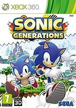 SEGA Sonic Generations, Xbox 360 Xbox 360 vídeo - Juego (Xbox 360, Xbox 360, Plataforma, E (para todos))