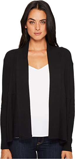Michael Stars - Super Soft Madison Rib Open Front Long Sleeve Cardigan