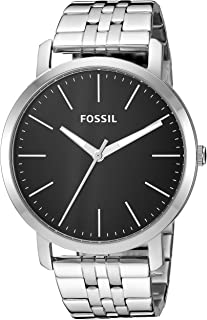 Fossil Luther Stainless Steel Analog Black Dial Men's Watch - BQ2312