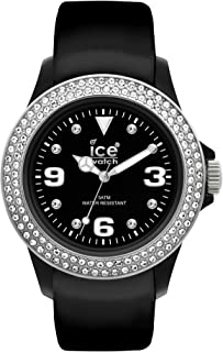 Ice-Watch Unisex ST.BS.U.L.10 Tycoon Analog Japanese Quartz Black Synthetic Watch