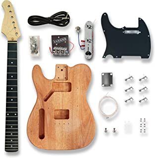 DIY Left-handed Electric Guitar Kits for TL Style, okoume wood Body