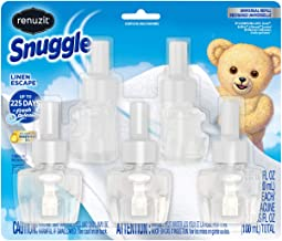 5 Count Renuzit Snuggle Scented Oil Refill for Plugin Air Fresheners