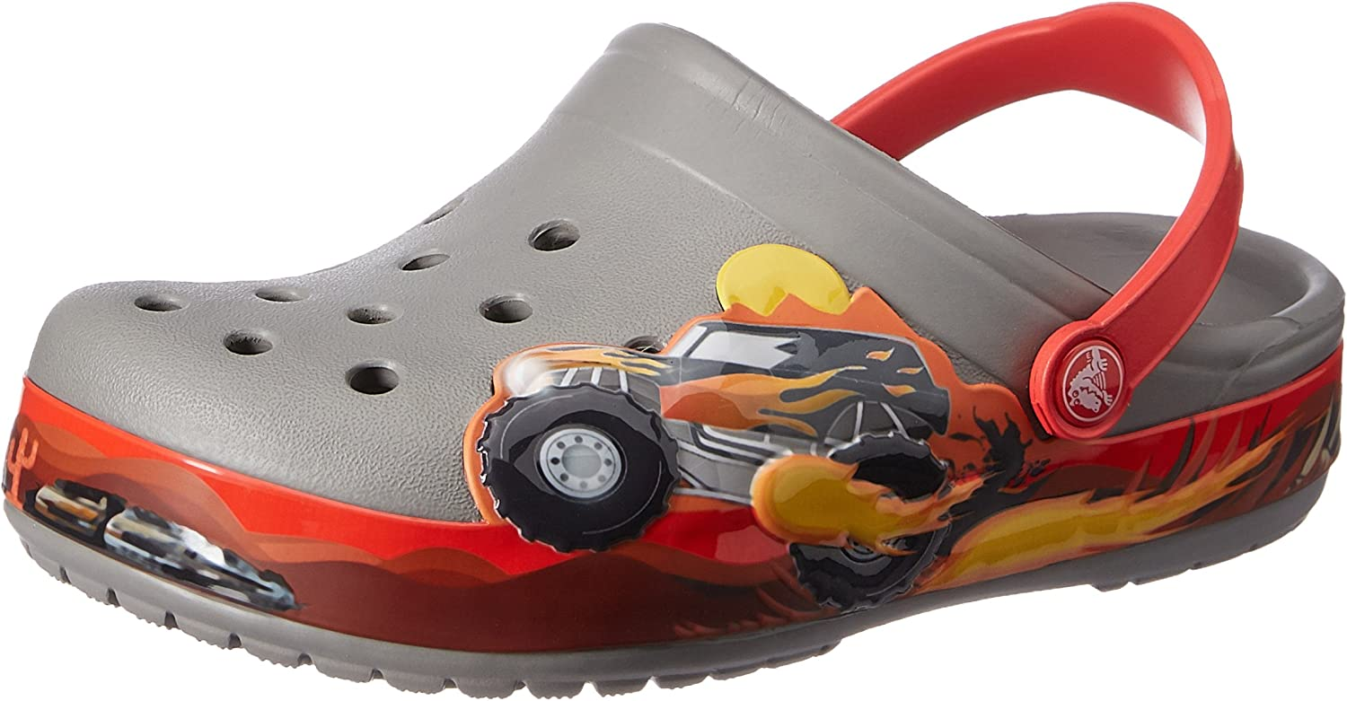 Crocs Kids' Crocband Animer and price revision Clog Max 73% OFF Monster Truck