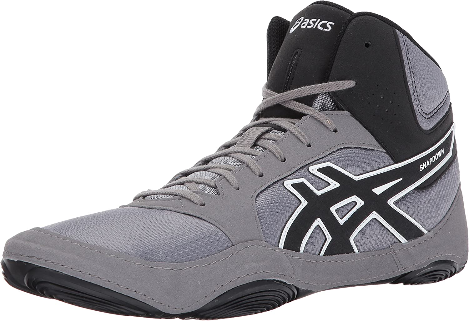 ASICS Mens Snapdown 2 Wrestling sautope, nero Aluminum bianca, 10.5 Medium US