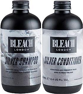 (2 PACK) Bleach London Silver Shampoo x 250ml & Bleach