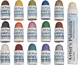 Jack Richeson Shiva Oil Paintstik, Mini Iridescent Assortment, Set of 16