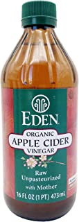 EDEN FOODS Organic Apple Cider Vinegar, 473 ml