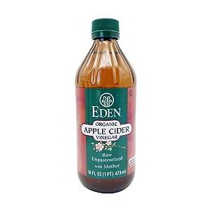 Eden Foods, Vinegar Apple Cider Organic, 16 Fl Oz