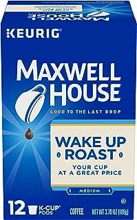 Maxwell House Light Roast Keurig K-Cup Coffe Pods (3.7 oz Box)