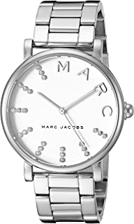 Marc Jacobs Women's Quartz Watch analog Display and Stainless Steel Strap, MJ3566