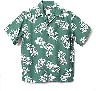 HULA KEIKI (フラケイキ) アロハシャツ【パイナップル】HK-19001 / GREEN