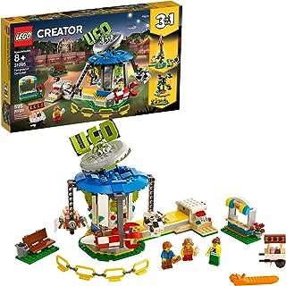 LEGO Creator 3in1 Fairground Carousel 31095 Building Kit,...
