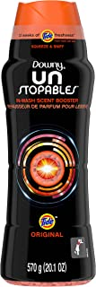 Downy Unstopables In-Wash Scent Booster Beads with Tide Original Scent, 20.1 oz