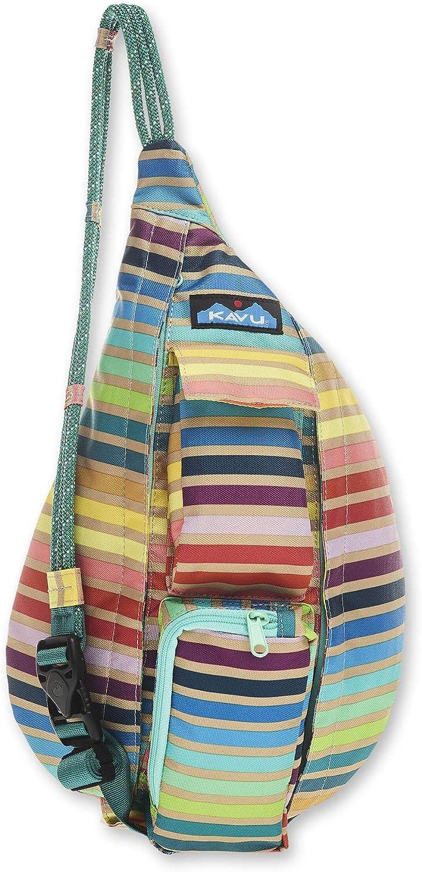KAVU Mini Rope Sling Bag Polyester Backpack S 1 year warranty Crossbody - Sale item Summer