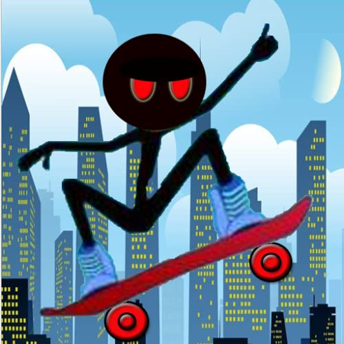 Stickman Skate Board : 180 Epic City