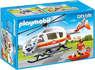 Playmobil Er Medical Helicopter - 4 Years And Above