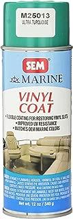 SEM M25013 Ultra Turquoise Marine Vinyl Coat - 12 ounces