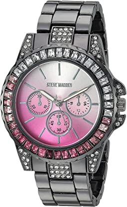 Rainbow Case Ladies Alloy Band Watch SMW176
