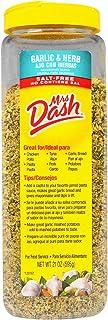 Mrs Dash Saltless Seasoning Blend Garlic and Herb No Salt 21 Ounce