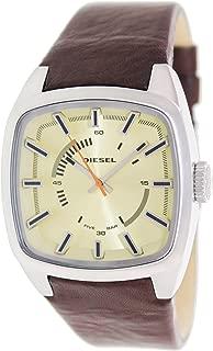 Diesel Scalped Three-Hand Leather - Brown Men's watch #DZ1621