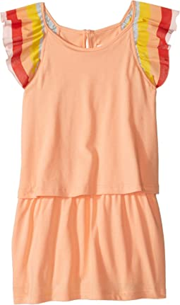Chloe Kids - Rainbow Ruffles Short Sleeve Dress From Adult Collection (Toddler/Little Kids)