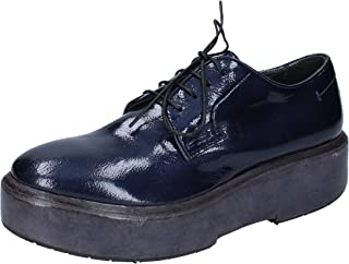 MOMA Oxfords Womens Blue