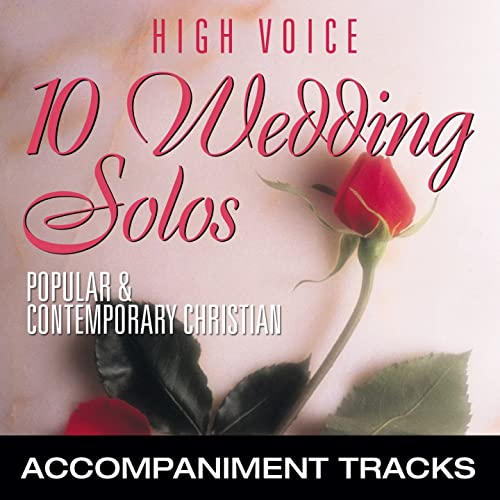 10 Wedding Solos Popular Contemporary Christian High Voice