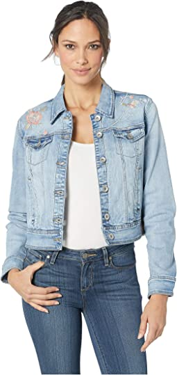 Denim Jean Jacket w/ Embroidery