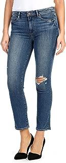 PAIGE, Women's Jacqueline High Waist Ankle Straight Leg Jeans, Ramona Destructed, Size 23