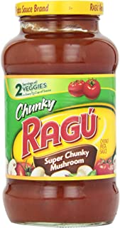 Ragu Chunky Pasta Sauce, Super Chunky Mushroom , 1 lb 8 oz