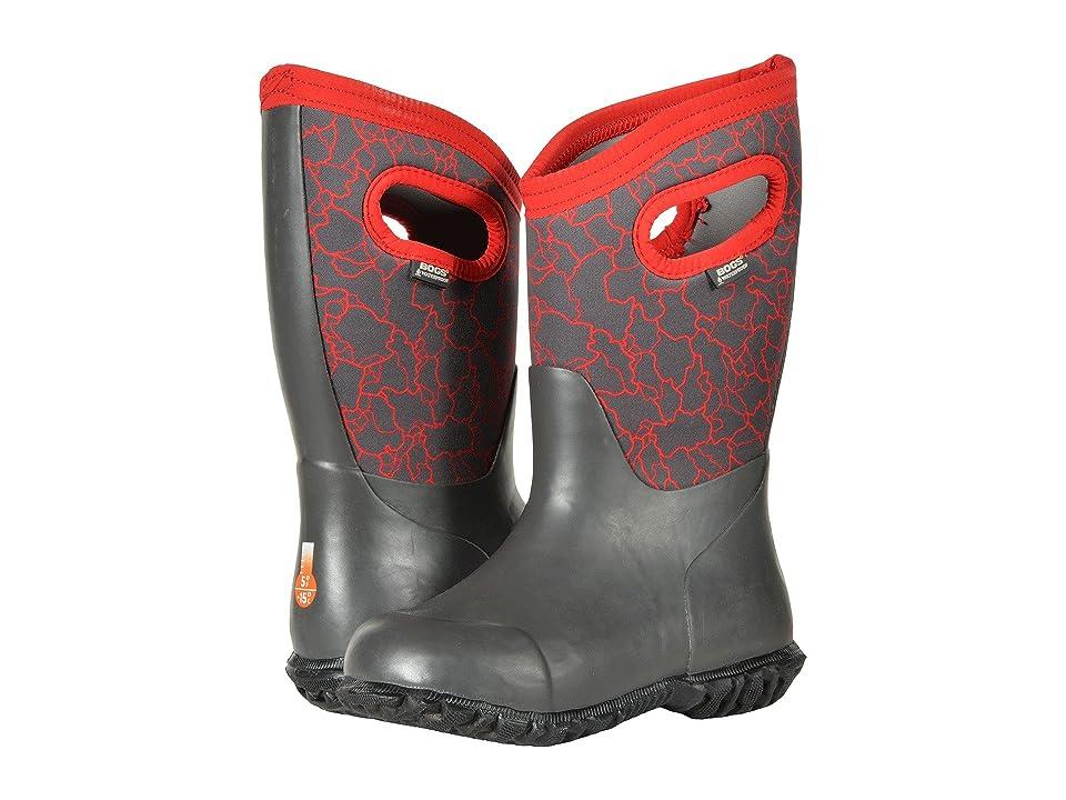Bogs Kids Durham Crackle (Toddler/Little Kid/Big Kid) (Dark Gray Multi) Boys Shoes