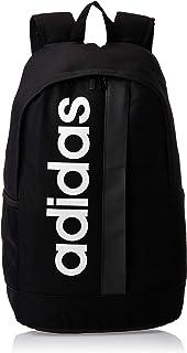 adidas Unisex' Linear Core Backpack, Black/White