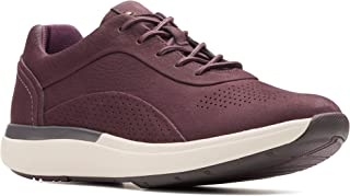 Clarks Womens Un Cruise Lace Sneaker Navy