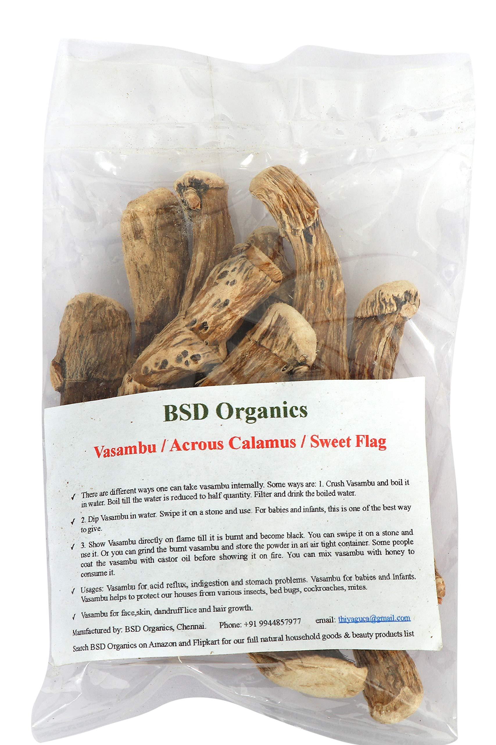 BSD Organics Vasambu/Acrous Calamus/Sweet Flag - 100 gms