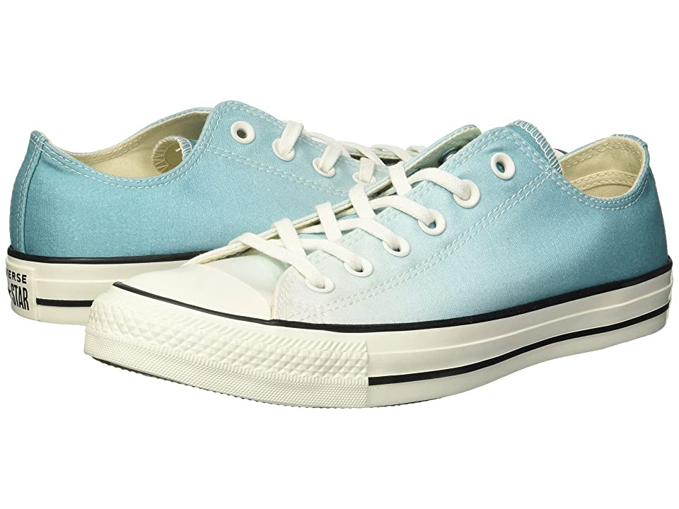 Converse Chuck Taylor All Star Ombre Wash Ox (Pure Teal/Egret/Egret) Women