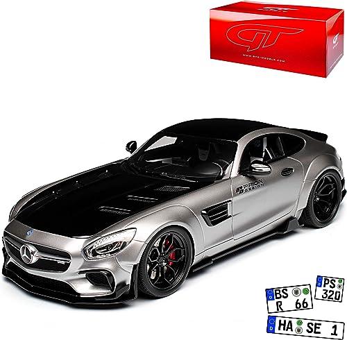 GT Spirit Mercedes-Benz AMG GT R Coupe Grau Prior Design Ab 2014 Nr 723 1 18 Modell Auto mit individiuellem Wunschkennzeichen