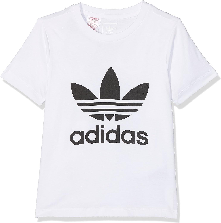 Ministerio Ingenieria hostilidad  adidas Girls' J Trefoil G T-Shirt: Amazon.co.uk: Clothing
