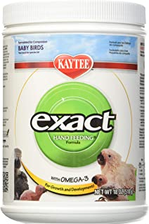 Kaytee (3 Pack) Exact Hand Feeding For Baby Bird, 18-Ounce Each
