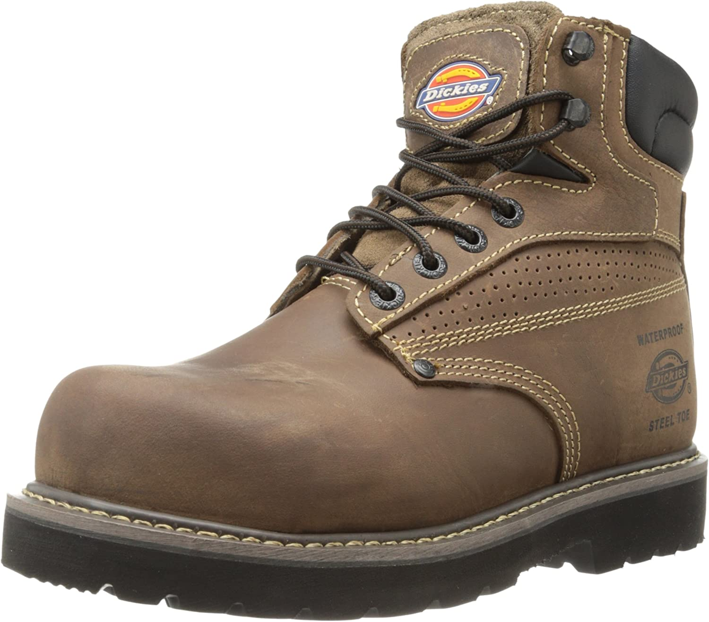Dickies Men's Breaker Steel-Toe Work Boot