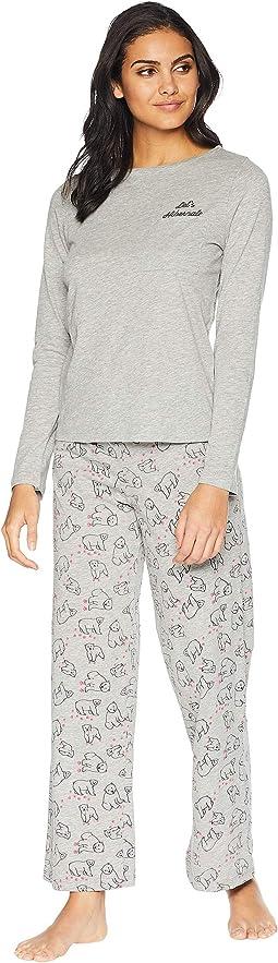Holiday Tees Pima Cotton PJ Set