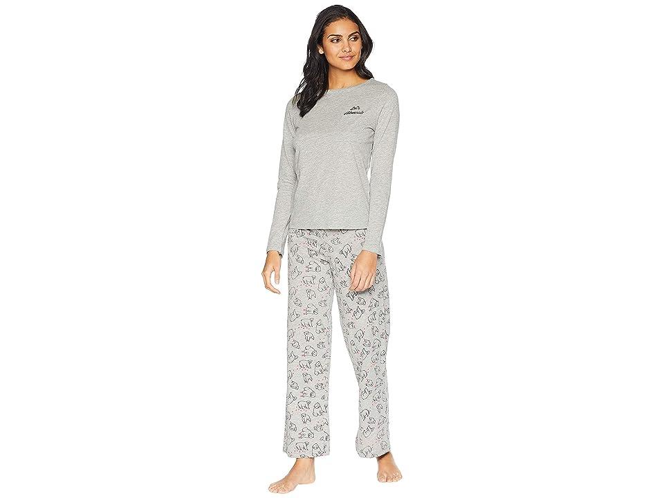 Cosabella Holiday Tees Pima Cotton PJ Set (Bear) Women