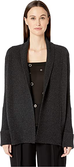 Wide Collar Cardigan
