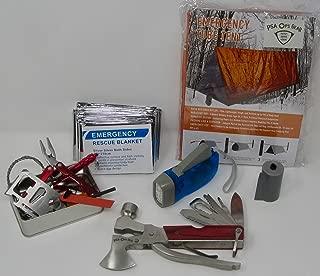 Shelter Emergency Safety Kit (Bug Out Bag/Vehicle Safety Module)