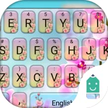 Peach Blossom Theme&Emoji Keyboard
